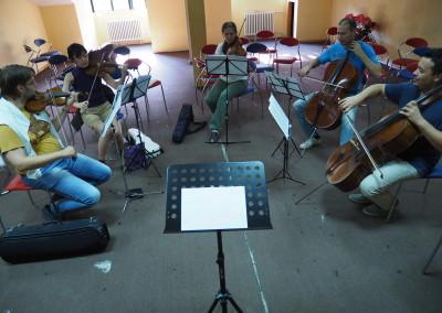 Ljetnji kamp za kamernu muziku na Ivanovim koritima  8-15. avgust 2015.