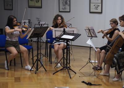 Ljetnji kamp za kamernu muziku na Ivanovim koritim 8-15. avgust 2015.