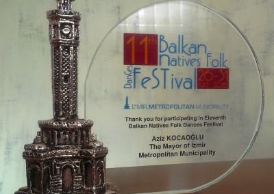 nsambl KIC-a na Festivalu folkolora u Izmiru