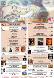 plakat program februar