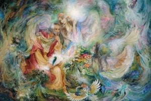 Mahmud Farščian ''Glad tidings of light''