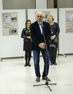 U ime Kulturnog centra Novog Sada izložbu je otvorio gdin Mirsad Avdić