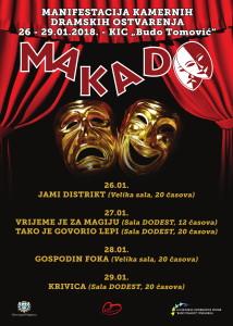 Plakat MAKADO 2018-1