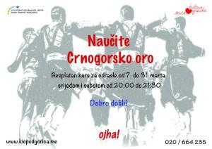 kurs crnogrosko oro-01