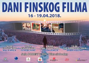 Plakat Dani Finskog filma 2018. II